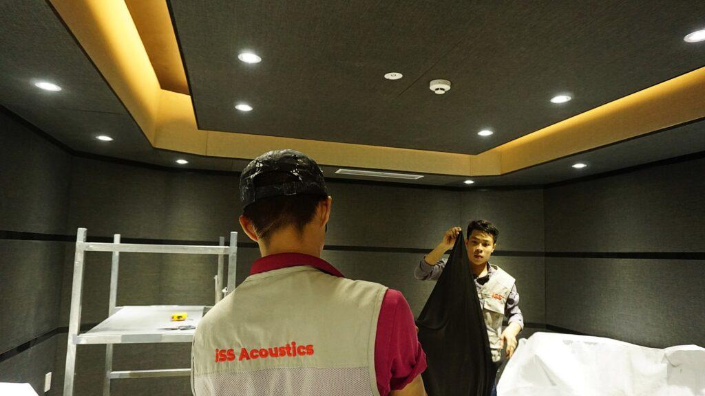 iSS Acoustics Thi cong cach am tieu am chuyen nghiep