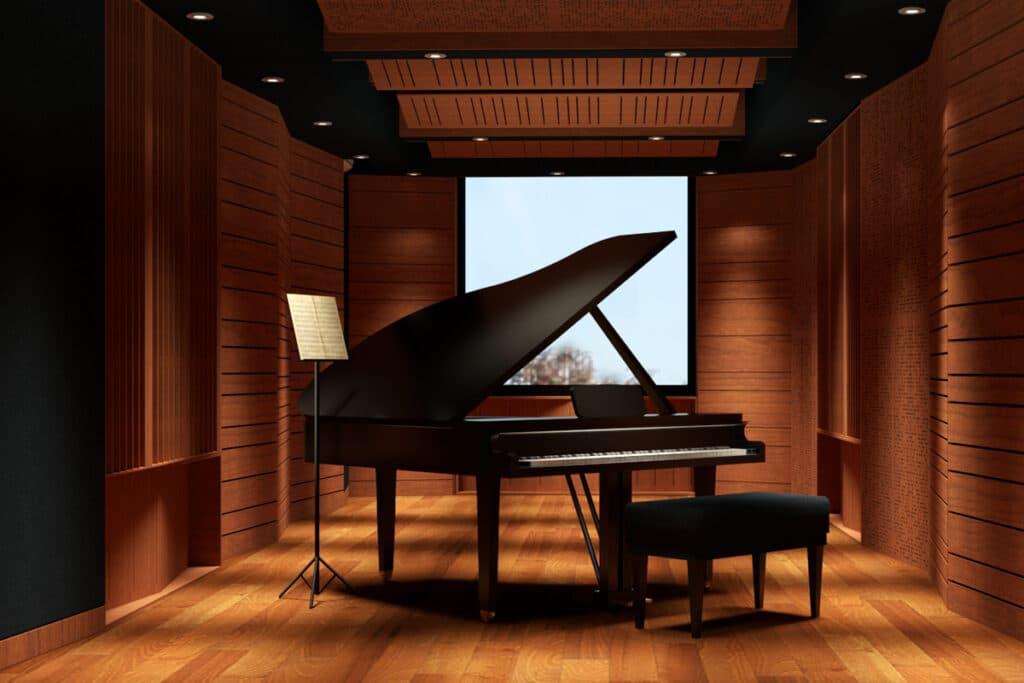 Phòng tập nhạc, phòng dạy nhạc