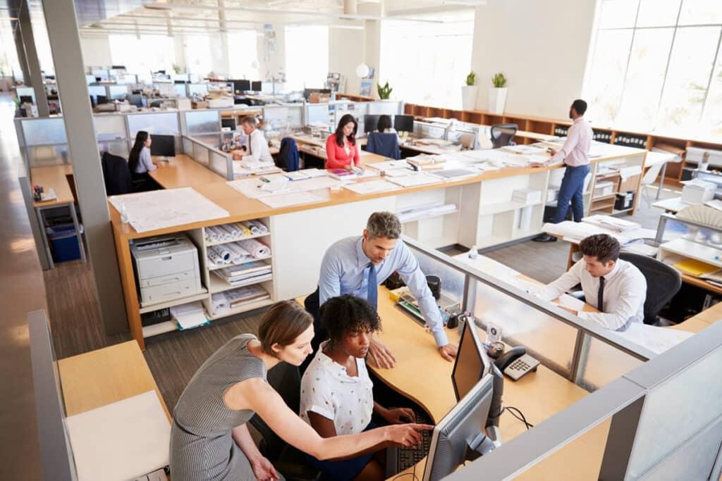 Cách âm văn phòng, cơ quan, trường học
